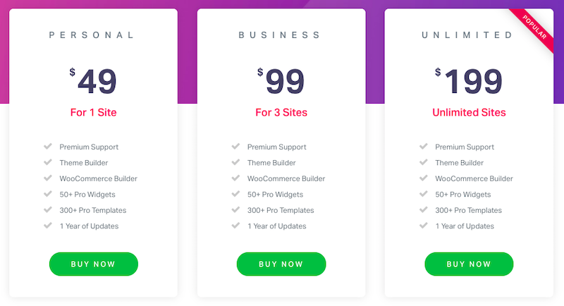 elementor-pricing