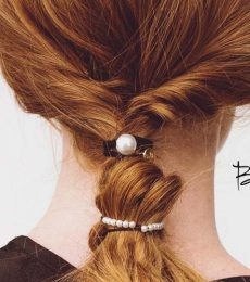 By Lilla Review | The Stylish Combination Of Bracelets And Hair Ties